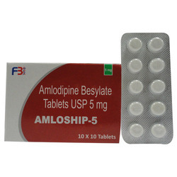 Amlodipine Besylate Tablets 5 mg