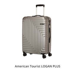 American Tourister Silver Logan Plus Trolley Bag