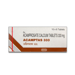 Acamptas Acamprosate Calcium Tablets 333 mg