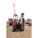 Hydraulic Rotary Tractor Mounted Drilling Rig