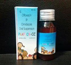 Ofloxacin 50mg Ornidazole 125 mg