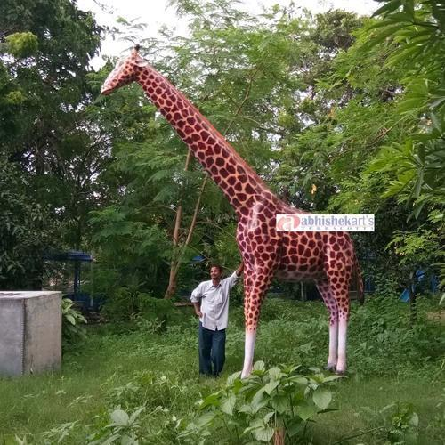 Fiberglass Giraffe Statue