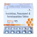 Aceclofenac 100MG PCM 325MG & Serratiopeptidase 15mg Tablets
