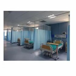 Polyester Hospital Curtain, Size: 4x7
