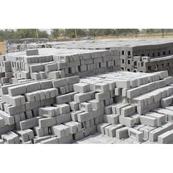 Rectangular Grey Fly Ash Bricks
