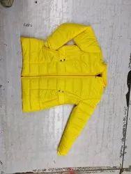 Full Sleeve Yellow Ladies Jackets