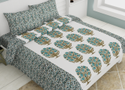 Bedsheet Cotton Double Bed Tree Printed