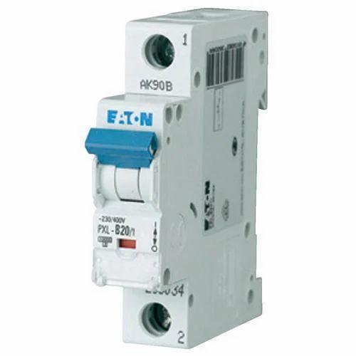 EATON Single Phase MCB - PLSM Single Pole