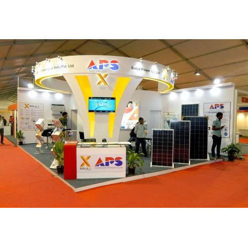Exhibition Stall Manufacturer In Gujarat : Available in many colors exhibition stall for for advertising rs