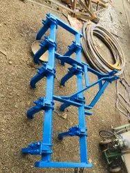 Rigid Type 9 Tynes Tractor Cultivator, 1-4 Feet