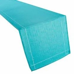 Solid Color Cotton Table Runner