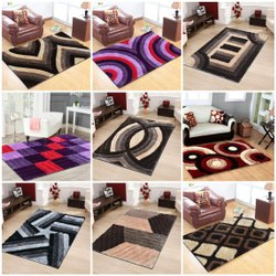 A2Z Polyester 4D Shaggy Carpets