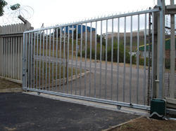 Stainless Steel Industrial Gates