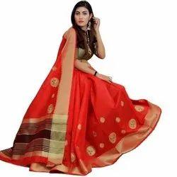 Soft Raw Silk Saree