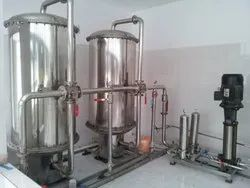 Stainless Steel RO Water Treatment Plant