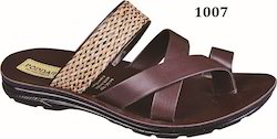 Poddar Gents PU Slipper