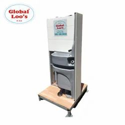 Twin Hand Wash Cum Sanitizer Station On Rental