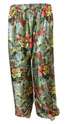 Regular Fit Floral Printed Palazzo Pants
