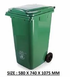 FRP Plastic Wheeled Dustbins