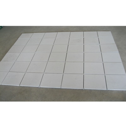 Heat Resistant Tiles White Feet