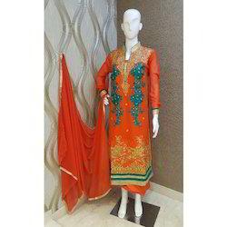 Embroidery Sherwani Style Suit