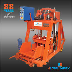 Manual Operated Concrete Block Machine