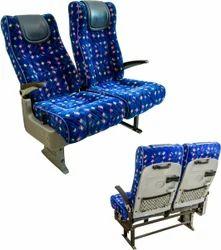 Meenakshi Polymers Red, Blue Push Back Seats, for Garage