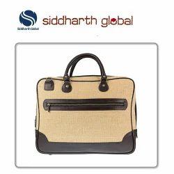 Woven Jute Laptop Bag