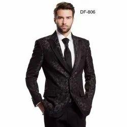 Diwan Saheb DF-806 Mens Black Western Suit