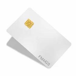 PVC Rectangular Contact Smart Card SLE4428