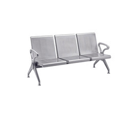 SS Three Seater Waiting Chair