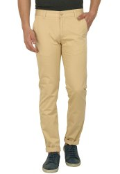Studio Nexx Solid Men Cotton Casual Chinos Trouser