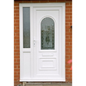 White Designer Upvc Door