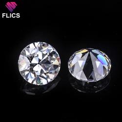 Old European Cut Moissanite Diamond ( Loose Diamond & Moissanite Diamond Ring )