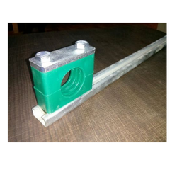 Tube Clamps with Mounting Rail
