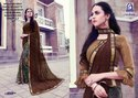 Rachna Georgette Shakira Catalog Saree Set For Woman 3