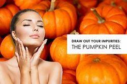 Pumpkin Peels Skin Treatment