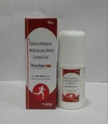 Diclofenac Diethylamine, Methyl Salicylate Gel, Packaging Size: 50 Gm