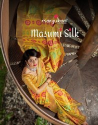 Manjubaa Masmi Silk Saree