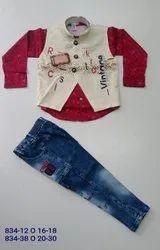 Z. Luna Cotton Kids Jacket Baba Suit, Size: 16-18,20-30