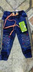 Denim Casual Wear Kids Stretchable Jogger Jeans