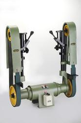 Double Sided Abrasive Belt Grinder
