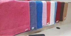 Plain Cotton Dyed Face Towel