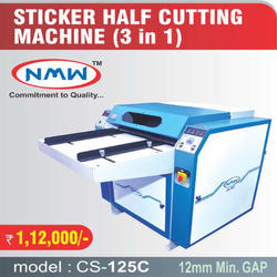 Automatic Half Sticker Cutting Machine
