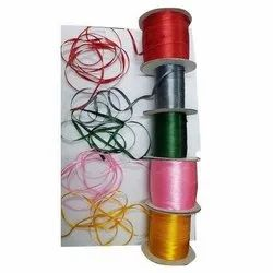 Multicolor Designer 6 mm Narrow Polyester Thread for Garments