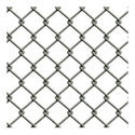 Silver Galvanized Chain Link Fence, For Industrial, Packaging Type: Roll