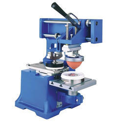 Semi Auto Pneumatic Pad Printing Machine