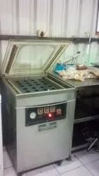 Vacuum Packing Machine with Nitrogen Gas Flushing