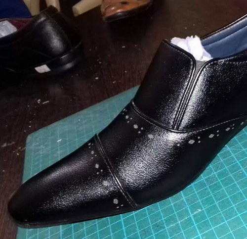 zip formal shoes for mens