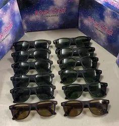 Male Casual Wear Rock Star Wayfarer Sunglasses